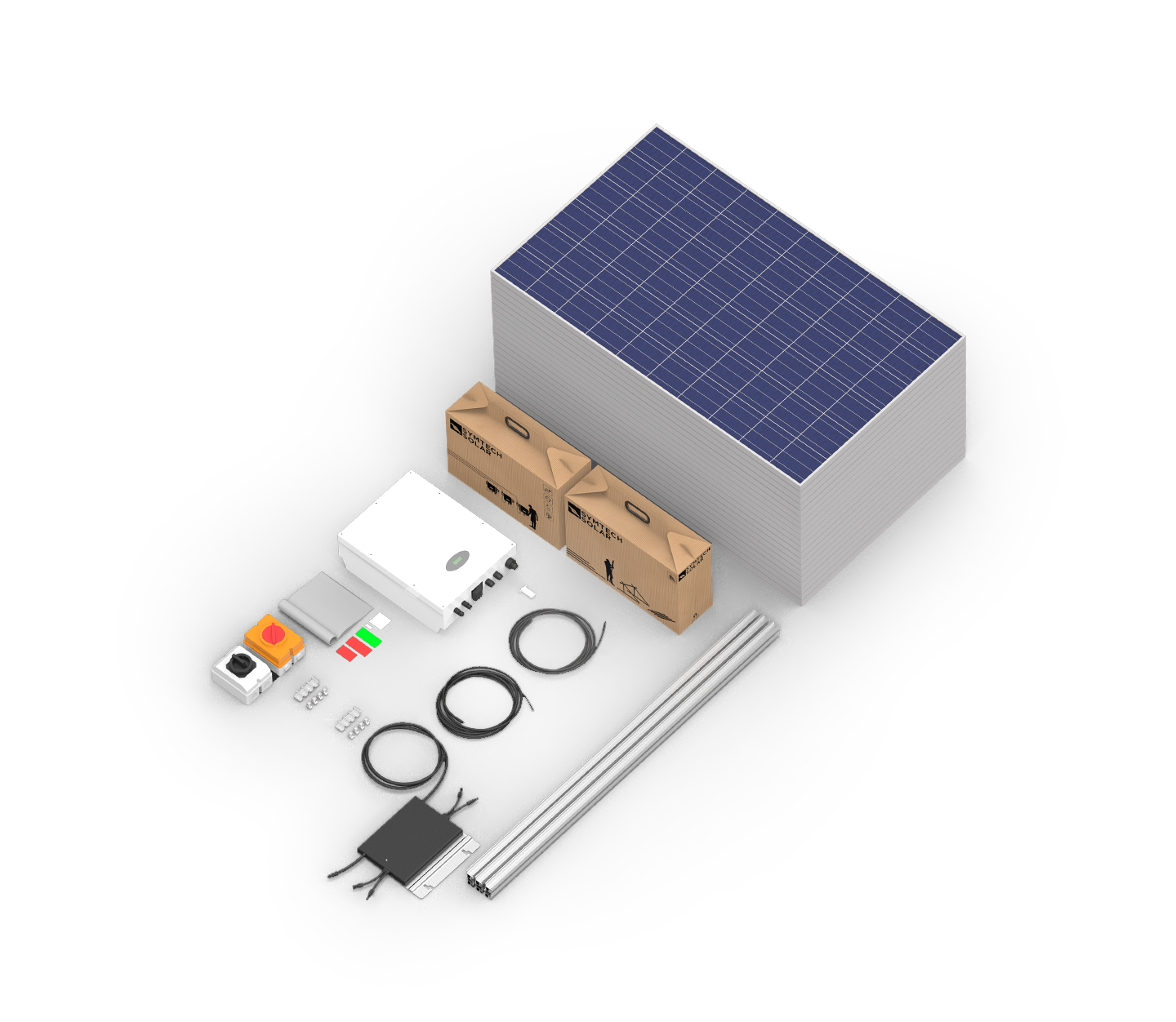 On Grid Residential PV Systems - Install Ready   Apollo