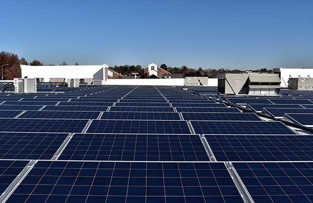 Sistema de Energía Solar para Negocios