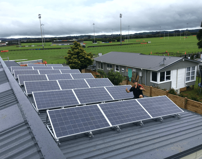 Solar On-Grid PV System In New Zealand