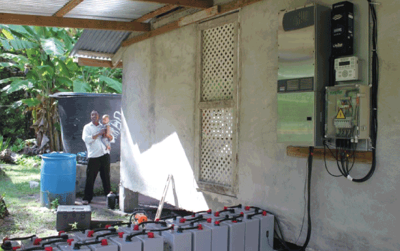 Off-Grid Solar PV Solutions for Micronesia: The Helios Series