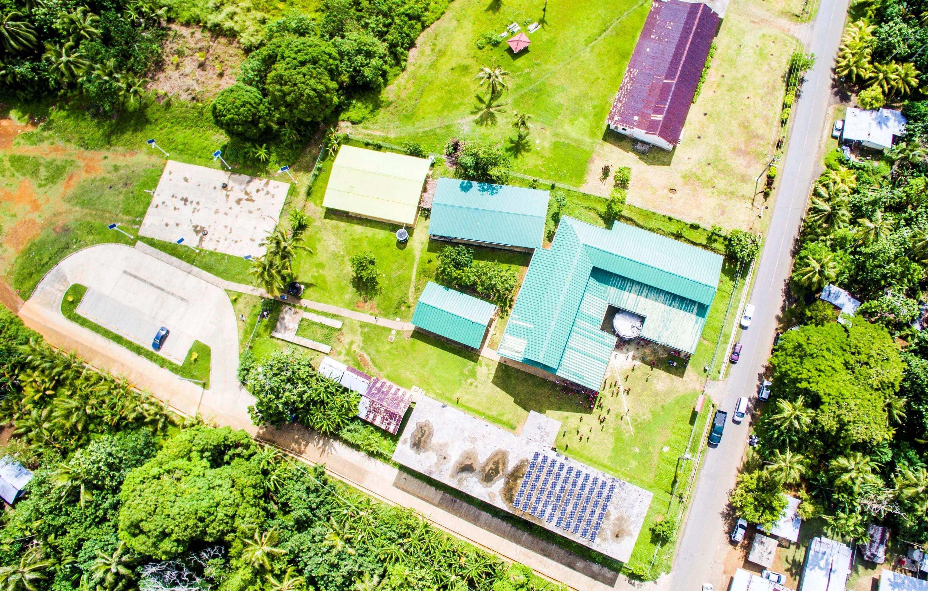 Upstream Solar Integrator Onsite Micronesia Solar Installation