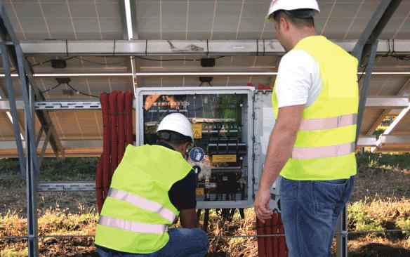 Annual PV System Maintenance