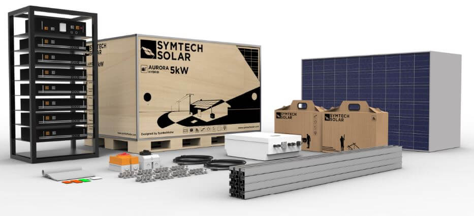 HYBRID PV SYSTEMS from Symtech Solar