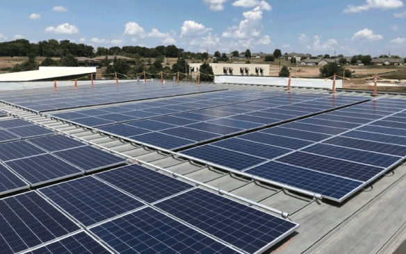 The Atlas Series – 100kW Commercial PV System USA