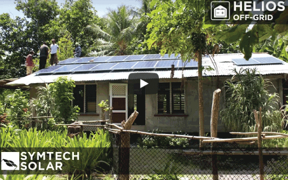 HELIOS Off Grid Solar Installation Video – Micronesia