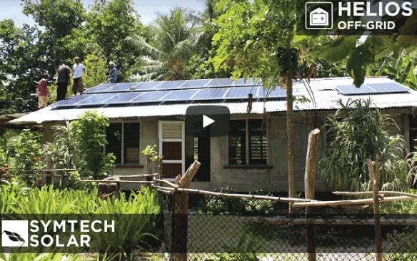HELIOS Off-Grid Solar Installation Video – Micronesia