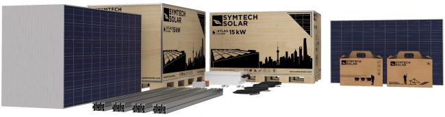 Commercial PV Kit, Solar Panel Kit for Commercial Applications, Symtech Solar