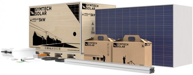 On Grid Solar Panel Kit, 5kW, Symtech Solar