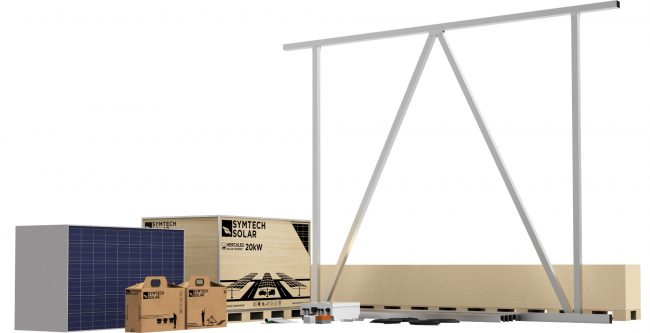 solar carport kit, solar panel carport kit by Symtech Solar