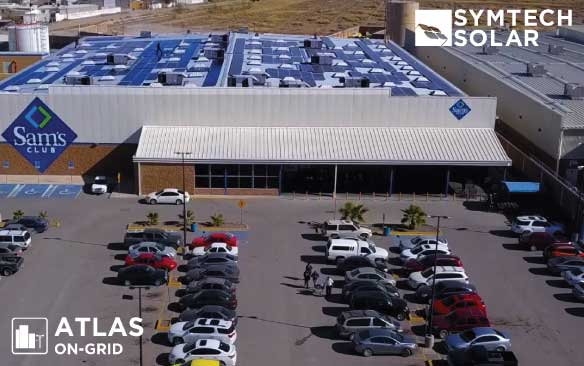 Symtech Solar 270 kW ATLAS On Grid PV System – Walmart MX