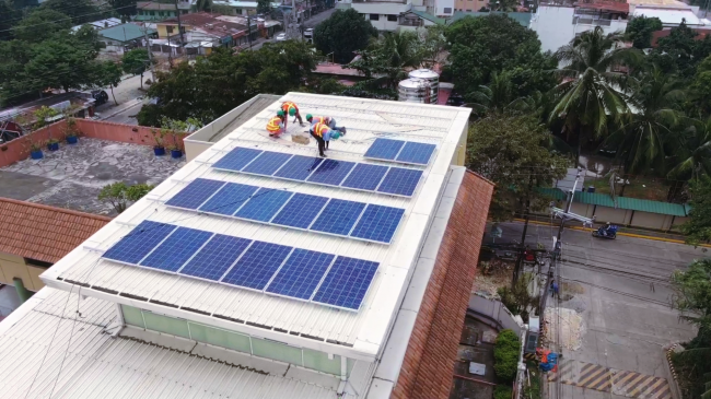 Tekton Entre Multi-Purpose Cooperative 5kW on grid solar installation photo