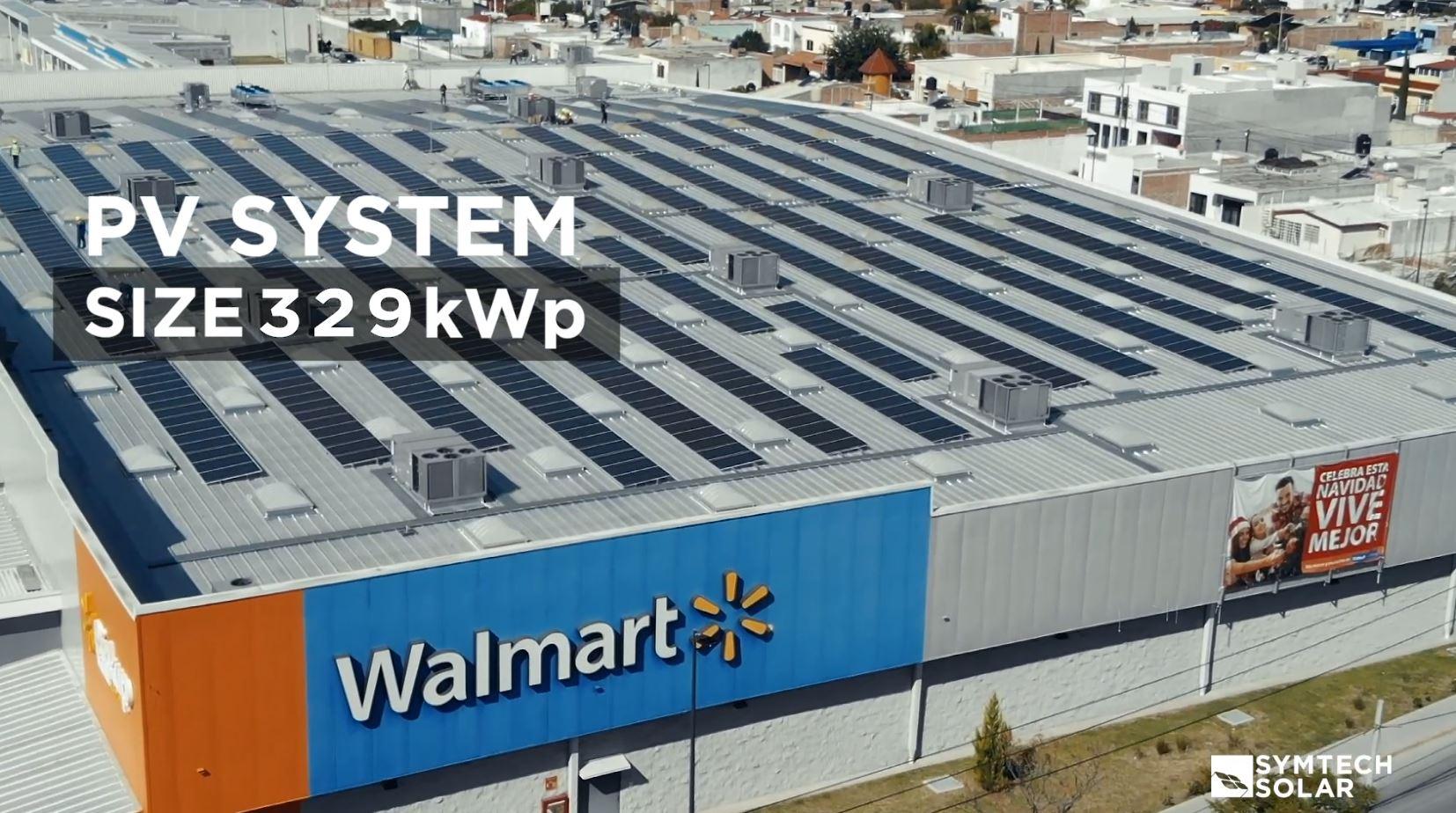 329kW Walmart Commercial Solar Project