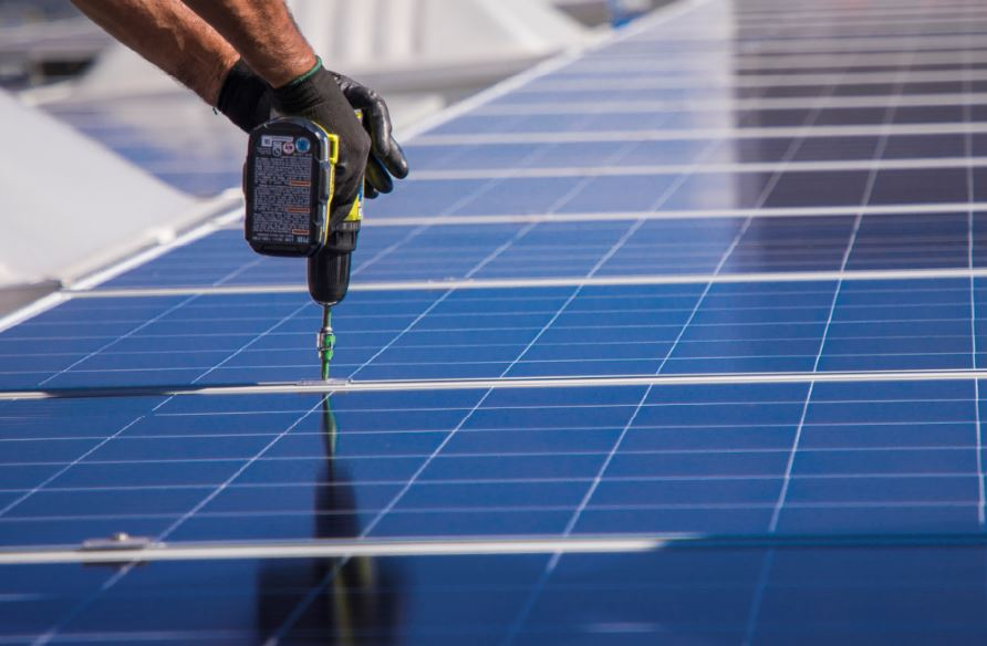 The Solar Walmart Project Story, Installation photo