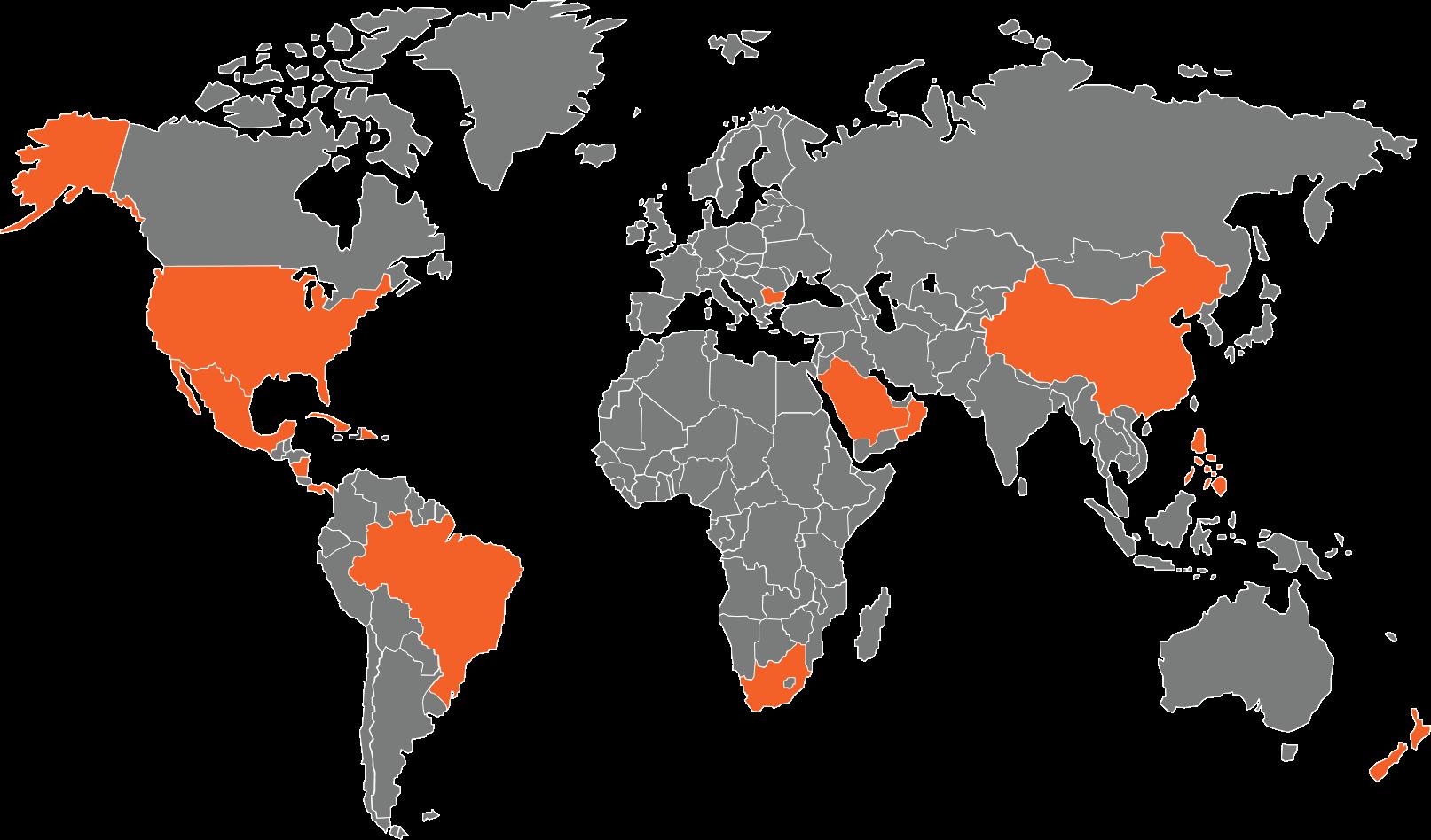 Symtech Solar World Map Locations 2020r