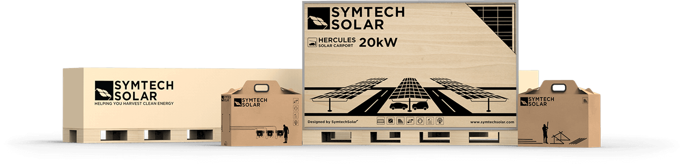 Hercules Solar Energy Carport Kit