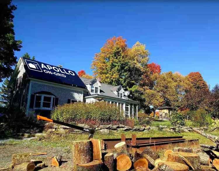 APOLLO On Grid Residential Solar Kit Installation in USA