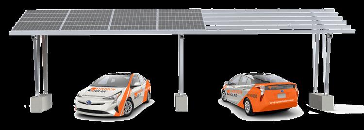 Symtech Solar Carport System